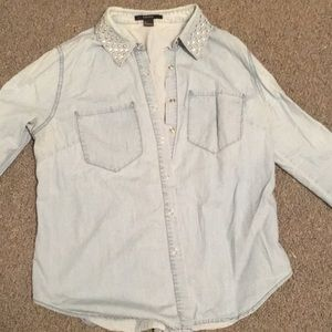 Clearance! Forever 21 chambray top